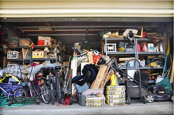 How to Get Rid of Junk in a Garage