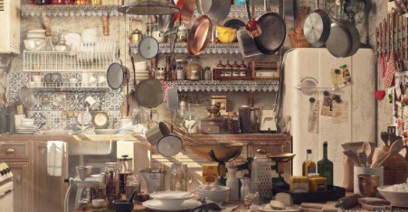 How to get Rid of an Old Kitchen